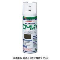 イサム塗料(ISAMU) エアーウレタン 315ML ブラックメタリック 4957945980163(直送品)