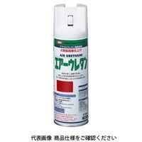 イサム塗料(ISAMU) エアーウレタン 315ML シャインレッドP 4957945980439(直送品)