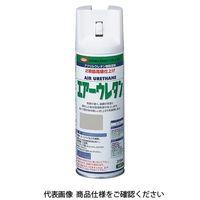 イサム塗料(ISAMU) エアーウレタン 315ML つや消しN7グレー 4957945980491(直送品)