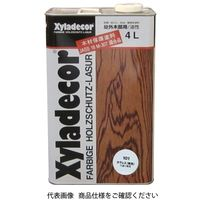 武田薬品工業 キシラデコール 4L 101カラレス 4987123742993 1セット(8000mL:4000mL×2缶)(直送品)