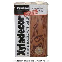 武田薬品工業 キシラデコール 4L 105カスタニ 4987123743044 1セット(8000mL:4000mL×2缶)(直送品)