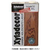 武田薬品工業 キシラデコール 4L 106タンネングリーン 4987123743051 1セット(8000mL:4000mL×2缶)(直送品)