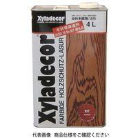 武田薬品工業 キシラデコール 4L 107マホガニ 4987123743068 1セット(8000mL:4000mL×2缶)(直送品)