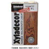 武田薬品工業 キシラデコール 4L 109シルバーグレイ 4987123743082 1セット(8000mL:4000mL×2缶)(直送品)