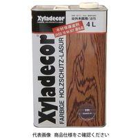 武田薬品工業 キシラデコール 4L 111ウォルナット 4987123743105 1セット(8000mL:4000mL×2缶)(直送品)