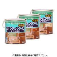 和信ペイント 水性ウレタンニス 0.7L ブラック 4965405115383 1セット(4200mL:700mL×6缶)(直送品)