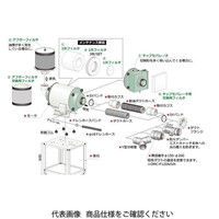 オーム電機(OHM) 3次フィルタ OMC-F120-F30 1セット(2枚) (直送品)