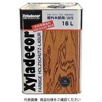 武田薬品工業 キシラデコール 16L 112ジェットブラック 4987123742405 1缶(16000mL)(直送品)
