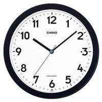 CASIO(カシオ計算機) ウエーブセプター秒針停止機能付き/夜見えライト付き掛置兼用電波時計(自立スタンド付き) IQ-860NJ-1JFブラック (取寄品)