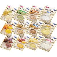 ホリカフーズ おいしくミキサー おかゆ&おかず&デザートのセット 568705 1箱(12袋入)(取寄品)