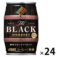 【缶コーヒー】ダイドーブレンド ブレンドBLACK 185g 1箱(24缶入)