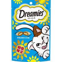 【期間限定】Dreamies(ドリーミーズ)猫用 お魚&お肉ミックス 60g 1セット(3袋) マースジャパン