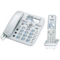 パナソニック コードレス電話機(子機1台付き)(シルバー) VE-GD36DL-S 1台(直送品)