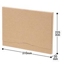ポストインケース A4サイズ 1セット(60枚:20枚入×3梱包) フジケース