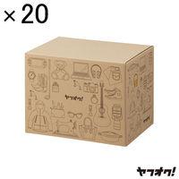 ヤフオク!80サイズ ダンボール箱(20枚入)横32×縦23×高25cm