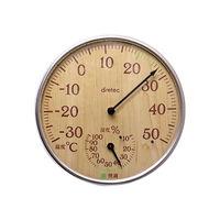 ドリテック(DRETEC) アナログ温湿度計 O-319NW 1個 61-9940-17 (直送品)