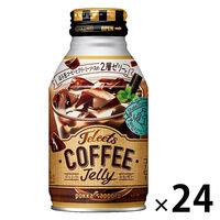 ポッカサッポロ JELEETS(ジェリーツ) コーヒーゼリー 275g ボトル缶 1箱(24缶入)