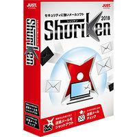 ジャストシステム Shuriken 2018 通常版 1479507 1本(直送品)