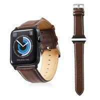 エレコム Apple Watch 42mm/ソフトレザーバンド/ラウンドボートタイプ/ブラウン AW-42BDLRBBR 1個 (直送品)