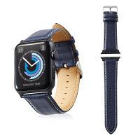 エレコム Apple Watch 42mm/ソフトレザーバンド/ラウンドボートタイプ/ネイビー AW-42BDLRBBU 1個(直送品)