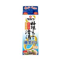 宝酒造 タカラ「料理のための清酒」糖質ゼロ900ml 1本