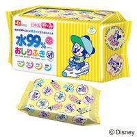 レックディズニー ミッキー&ミニー 純水 99% おしりふき 1パック(80枚×3個) レック