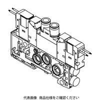 CKD(シーケーディー) 電磁弁付バルブブロック N4GA210R-C8-E2-1 1個 (直送品)