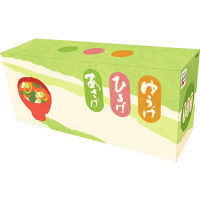 永谷園 粉末あさげ・ゆうげ・ひるげ おみそ汁アソートボックス ECEKH-1 1箱(30食入)