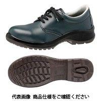 ミドリ安全 JIS規格 女性用 安全靴 短靴 プレミアムコンフォート LPM210 ネイビー 23cm 1500100205 1足(直送品)