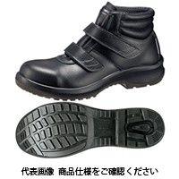 ミドリ安全 JIS規格 安全靴 中編上 ハイカット プレミアムコンフォート PRM225 ブラック 27.5cm 1510000814 1足(直送品)