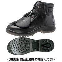 ミドリ安全 JIS規格 安全靴 中編上 ハイカット プレミアムコンフォート PRM220 甲プロMII ブラック 25cm 1510001209(直送品)