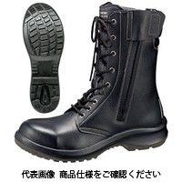 ミドリ安全 JIS規格 安全靴 長編上 ブーツ プレミアムコンフォート PRM230F オールハトメ ブラック 28.5cm 1530020316(直送品)