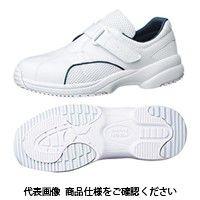 ミドリ安全 作業靴 ナースシューズ CSS-01N ネイビー 先芯なし 23.5cm 2125024106 1足(直送品)