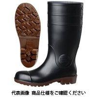 ミドリ安全 耐油 耐薬 安全長靴 NW1000 スーパー ブラック 先芯入り 25cm 2140003909 1足(直送品)
