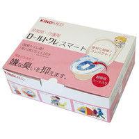 カインドウェア 簡易トイレ袋 ロールトワレスマート 1セット/4箱入(1箱/20枚入)(直送品)