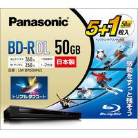 パナソニック録画用BD-R2層5+1枚