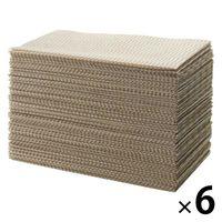 【アスクル限定】無印良品 業務用 キッチンダスター ベージュ 1箱(600枚:100枚入×6箱)