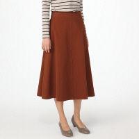 無印 ストレッチフレアースカート 婦人M