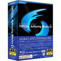 ペガシス TMPGEnc Authoring Works 6 TAW6 1個 (直送品)