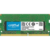 crucial 16GB DDR4 2400 MT/s (PC4-19200) CL17 DR x8 U-SODIMM CT16G4SFD824A(直送品)