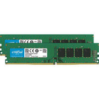 8GB Kit DDR4 2400 MT/s CL17 SR x8 Unbuffered DIMM 288pin CT2K4G4DFS824A(直送品)