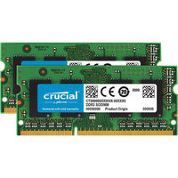 crucial 16GB Kit(8GBx2) DDR3 1600 MT/s(PC3-12800) CT2KIT102464BF160B 1個 (直送品)
