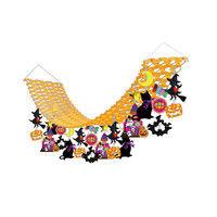 ササガワ 季節装飾 秋 ハロウィンプリーツハンガー 39-4892(取寄品)