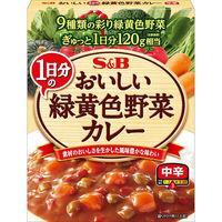 エスビー食品 S&B おいしいカレー 1日分の緑黄色野菜 中辛 1個