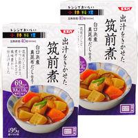清水食品 レンジでおいしい!小鉢料理 出汁をきかせた筑前煮 95g 1セット(2個)