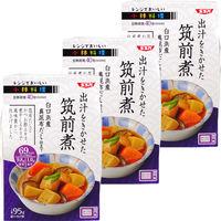清水食品 レンジでおいしい!小鉢料理 出汁をきかせた筑前煮 95g 1セット(3個)
