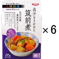 清水食品 レンジでおいしい!小鉢料理 出汁をきかせた筑前煮 95g 1セット(6個)