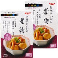 清水食品 レンジでおいしい!小鉢料理 里芋といかの煮物 105g 1セット(2個)