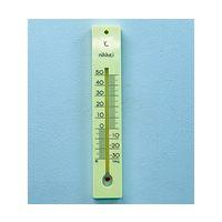 日本計量器工業 並板寒暖計 JC-4101 1本 61-0017-02 (直送品)
