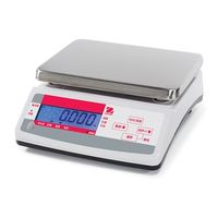 オーハウス デジタルはかり V1000シリーズ V11P3JP 1個 61-5080-34 (直送品)